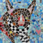 A Mosaic Portrait of my Dog Fin