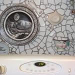 My Mosaic Kitchen Backsplash, by Dora Aldworth Grinnell